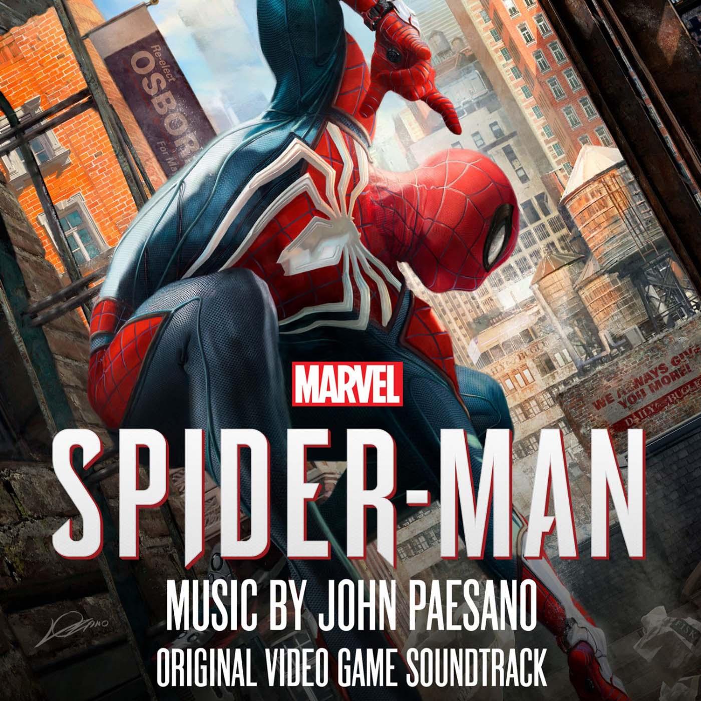 دانلود موسیقی متن بازی اسپایدرمن - Marvel's Spider-Man