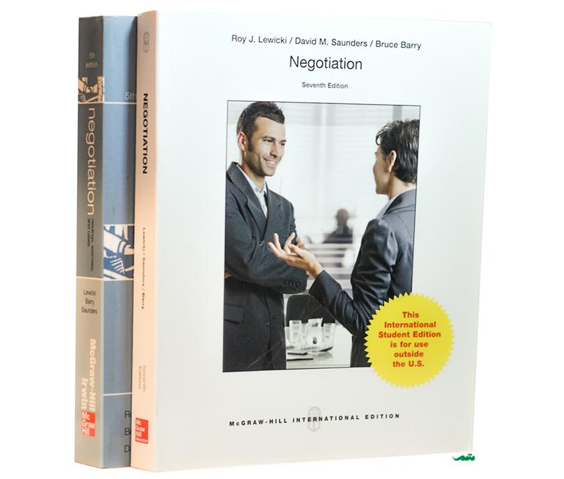 کتاب مذاکره لوییکی و ساندرز - آموزش اصول و فنون مذاکره