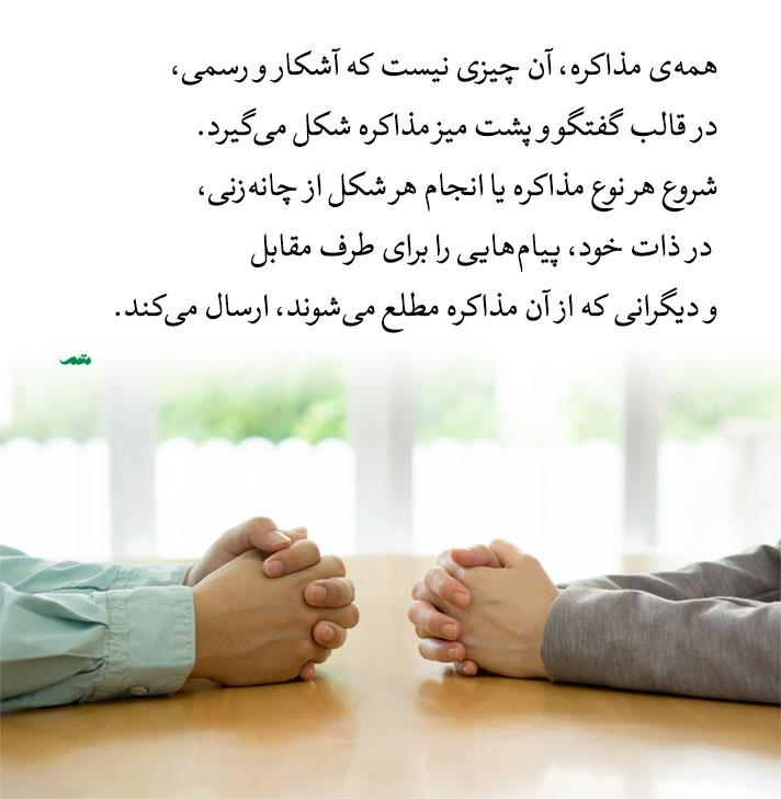 مهارتهای مذاکره و چانه زنی